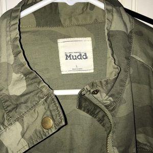 Mudd Jackets & Coats - Mudd camouflage jacket L